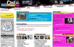 Ausschnitt der Internetsseite pariscinema.org