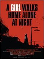 "Plakatmotiv ""A Girl Walks Home Alone at Night"""
