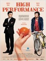 "Plakatmotiv ""High Performance - Mandarinen lügen nicht"""