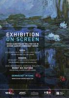 """Plakatmotiv """"Die 3. und neuste Staffel von Exhibition on Screen: Monet und Matisse"""""""