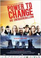 "Plakatmotiv ""Power To Change - Die EnergieRebellion"""