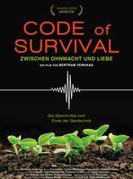 """Plakatmotiv """"Code of Survival - Die Geschichte vom Ende der Gentechnik"""""""