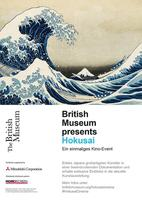 "Plakatmotiv ""Hokusai: Beyond the Great Wave"""