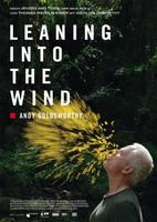 "Plakatmotiv ""Leaning Into The Wind - Andy Goldsworthy"""