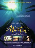 """Plakatmotiv """"Mantra - Sounds into Silence"""""""