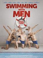 """Plakatmotiv """"Swimming With Men"""""""