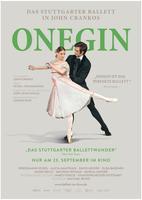 """Plakatmotiv """"Stuttgarter Ballett: John Crankos Onegin"""""""