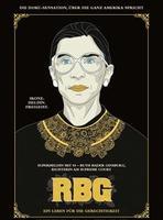 """Plakatmotiv """"RBG - Ein Leben für die Gerechtigkeit"""""""