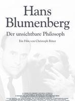 """Plakatmotiv """"Hans Blumenberg - Der unsichtbare Philosoph"""""""