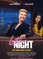 """Plakatmotiv """"Late Night - Die Show ihres Leben"""""""