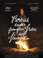 """Plakatmotiv """"Porträt einer jungen Frau in Flammen"""""""