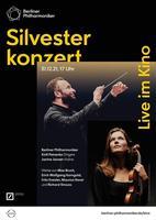 """Plakatmotiv """"Liveübertragung: Silvesterkonzert mit den Berliner Philharmonikern 2019"""""""