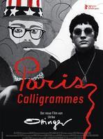 "Plakatmotiv ""Paris Calligrammes"""
