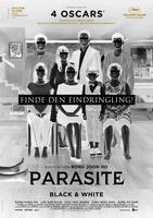"""Plakatmotiv """"Parasite (Schwarz-Weiß-Version) OmU"""""""