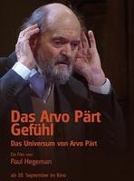 """Plakatmotiv """"Das Arvo Pärt Gefühl - That Pärt Feeling"""""""