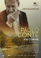"Plakatmotiv ""Paolo Conte - Via Con Me"""